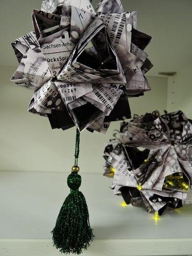 Makerist - LottoscheinBasteln...Papierfaltkunst...aus Lottoquittungen - DIY-Projekte - 2