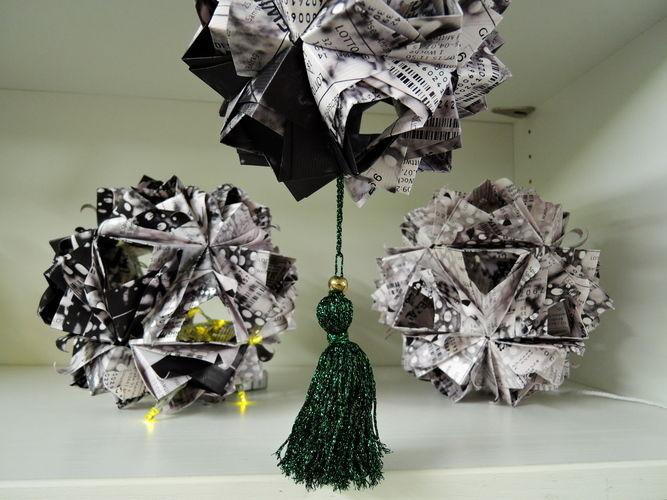 Makerist - LottoscheinBasteln...Papierfaltkunst...aus Lottoquittungen - DIY-Projekte - 3