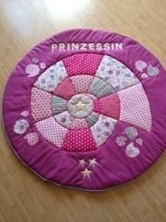 Makerist - Decke für ein Prinzessinenzelt - 1