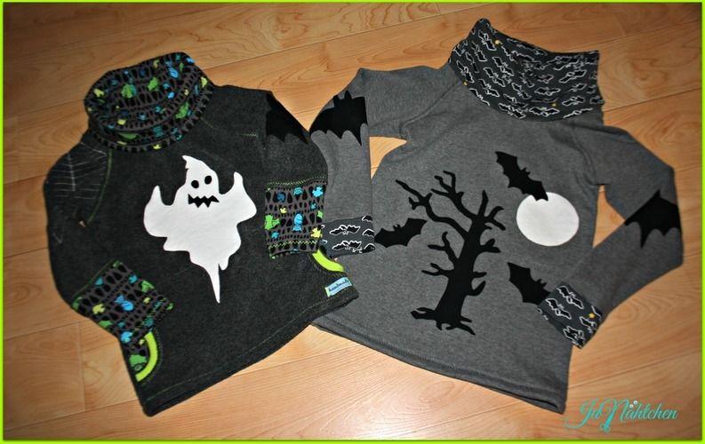 Makerist - Halloweenpullover für meine beiden Jungs - Nähprojekte - 1