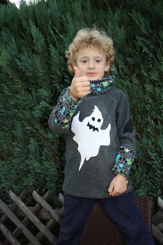 Makerist - Halloweenpullover für meine beiden Jungs - Nähprojekte - 3
