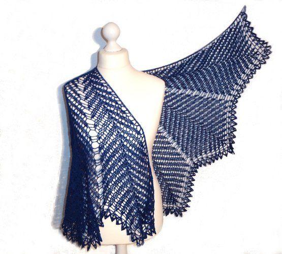 Makerist - Kentia Shawl, halbrundes Schultertuch - Häkelprojekte - 1