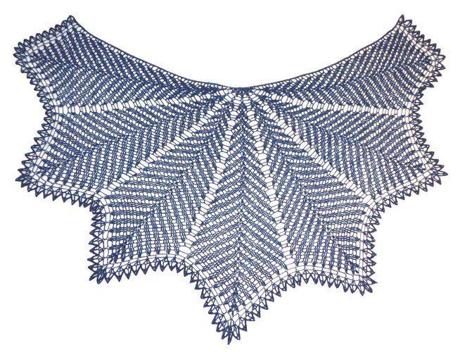 Makerist - Kentia Shawl, halbrundes Schultertuch - Häkelprojekte - 2