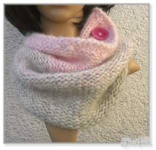 Makerist - Knopf-Loop/Clouds Cowl  &. Mütze - 1