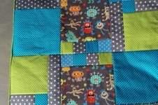 Makerist - Monster-Patchwork-Decke - 1