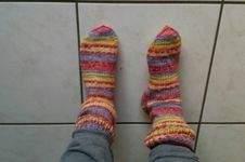 Makerist - Superdicke Socken - 1