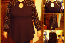 Makerist - Partykleid von Leni Pepunkt als Tunika für mich als Weihnachtsoutfit - 1