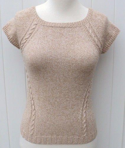 Makerist - Top raglan effet cintré de Carole Francone - Créations de tricot - 1