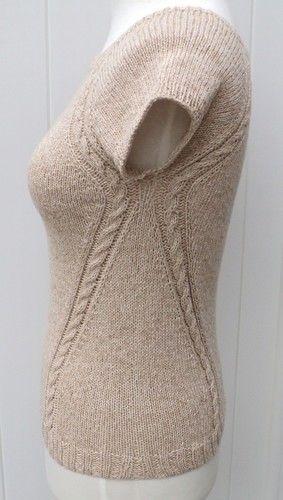Makerist - Top raglan effet cintré de Carole Francone - Créations de tricot - 2