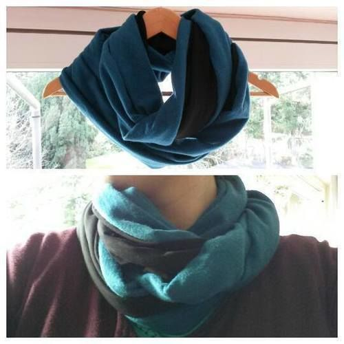 Makerist - Mein erster Loop-Schal - Nähprojekte - 1