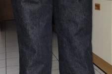 Makerist - selbst konstruierte und genähte Jeans - 1