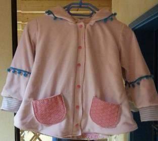 Makerist - Jacke, Fleece und Baumwollstoff,  - 1