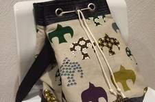 Makerist - Matchbag aus Vogel Stoff und Kunstleder  - 1