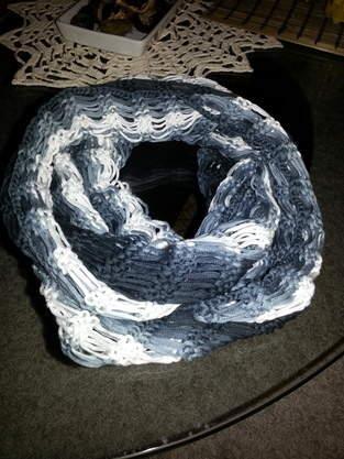 Makerist - Loop mit Fallmaschen - 1