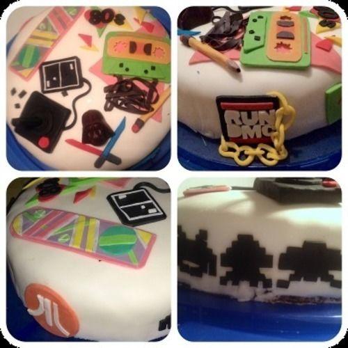 Makerist - 80s Back to the Future Torte - Torten, Cake Pops und Cupcakes - 1