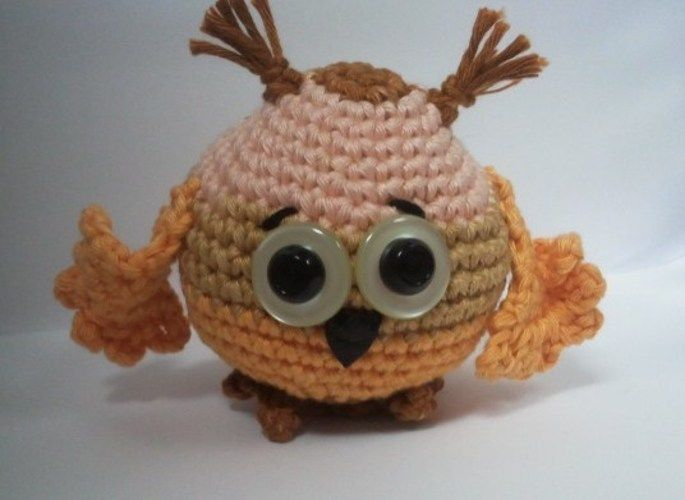 Makerist - Baby Owl - Häkelprojekte - 3
