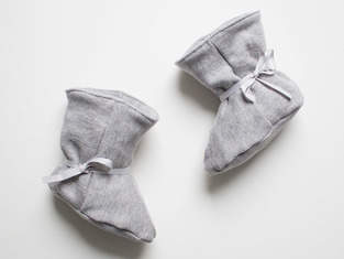 Makerist - Kuschlige Babystiefel  - 1