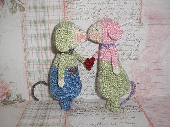 """Makerist - Modèle """"Olive et Violette"""", à ma sauce :-)  - Créations de crochet - 2"""