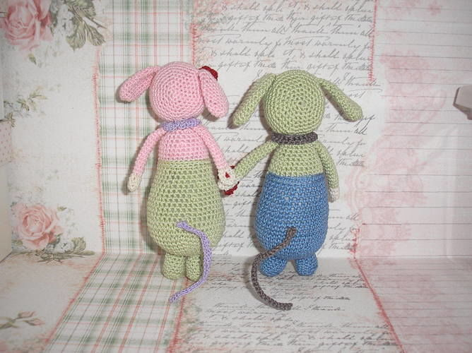 """Makerist - Modèle """"Olive et Violette"""", à ma sauce :-)  - Créations de crochet - 3"""