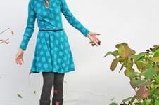 Makerist - Kleid Herbstgold in petrol - 1