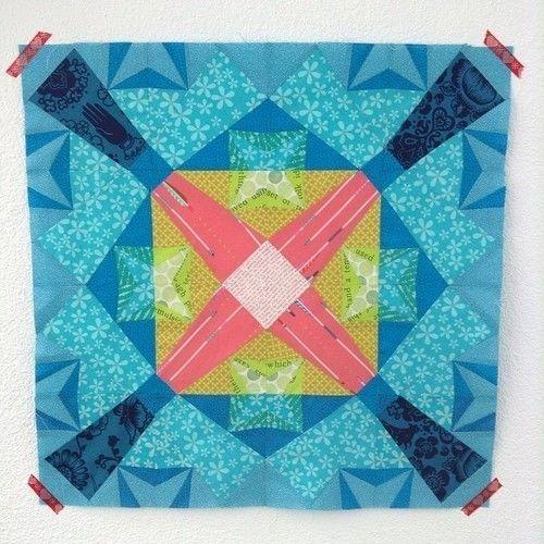 Makerist - Geometrische Explosion :) - Patchwork-Projekte - 1