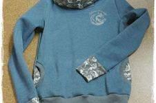 Makerist - Kragenhoodie für meine Schwiegertochter - 1