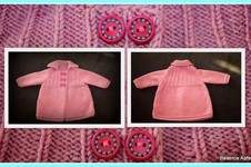 Makerist - kuschelige Babyjacke in Gr. 74 - 1