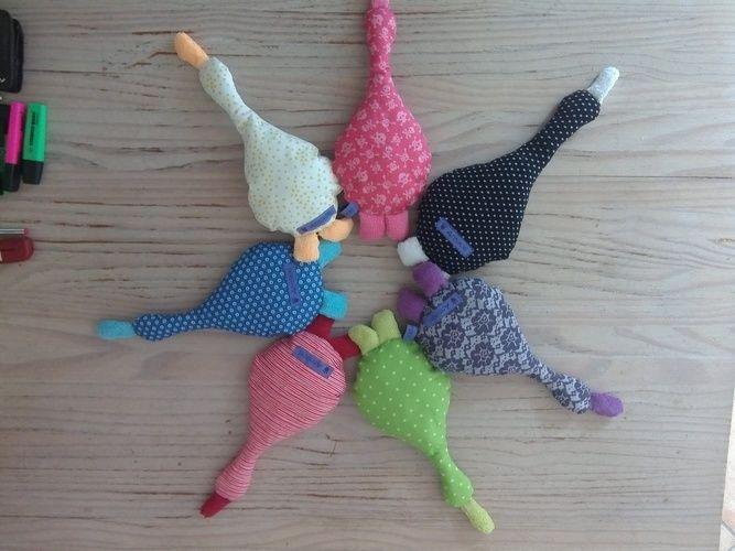 Makerist - Glücksenten - Nähprojekte - 3