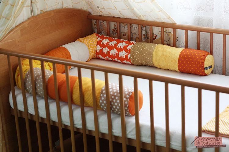 Makerist - Bettschlange Bettie - Nähprojekte - 2