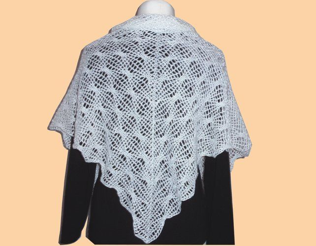 "Makerist - Mein dritter ""Magic Flow Shawl"" - Häkelprojekte - 3"