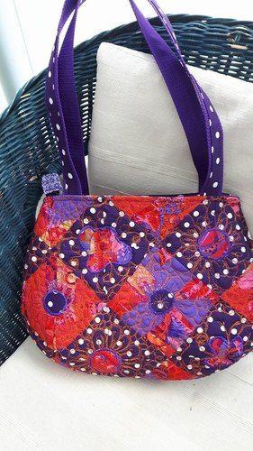 Makerist - Patchwork-Tasche gequiltet - Nähprojekte - 1