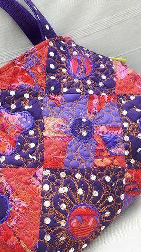 Makerist - Patchwork-Tasche gequiltet - Nähprojekte - 3