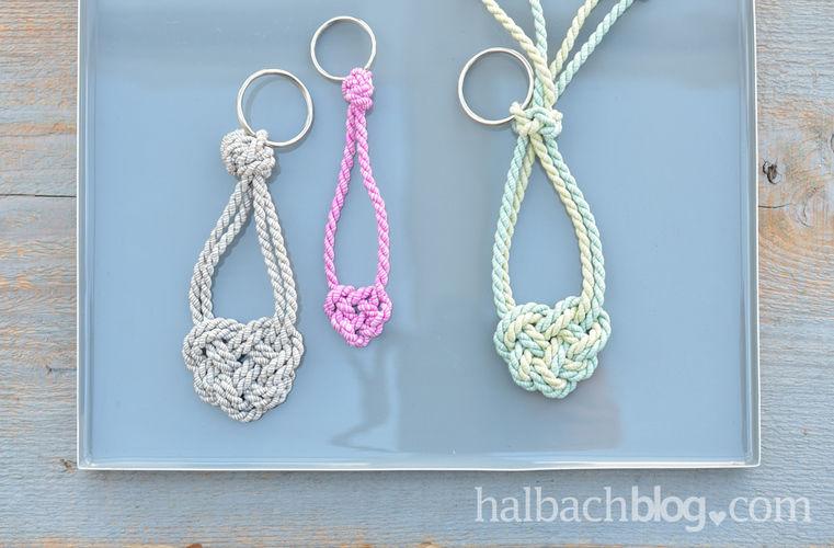 Makerist - Herzige Schlüsselanhänger knüpfen - DIY-Projekte - 3