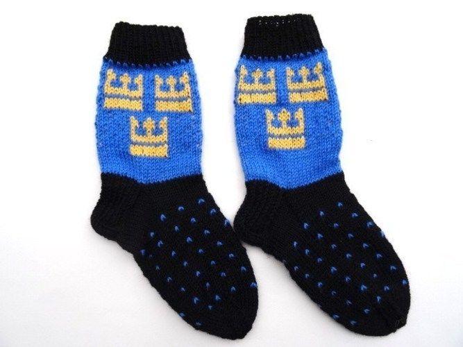 Makerist - Socken mit schwedischem Kronenmotiv - Strickprojekte - 2