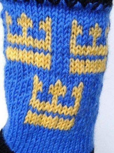 Makerist - Socken mit schwedischem Kronenmotiv - Strickprojekte - 3