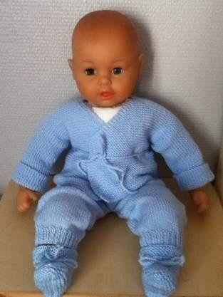 Makerist - ensemble bebe couleur bleu ciel  - 1