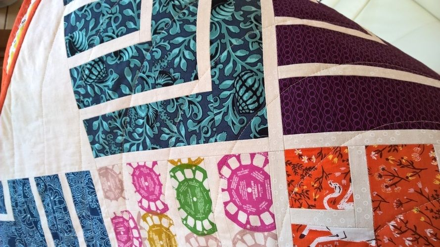 Makerist - Jelly in Point Quilt - Patchwork-Projekte - 2