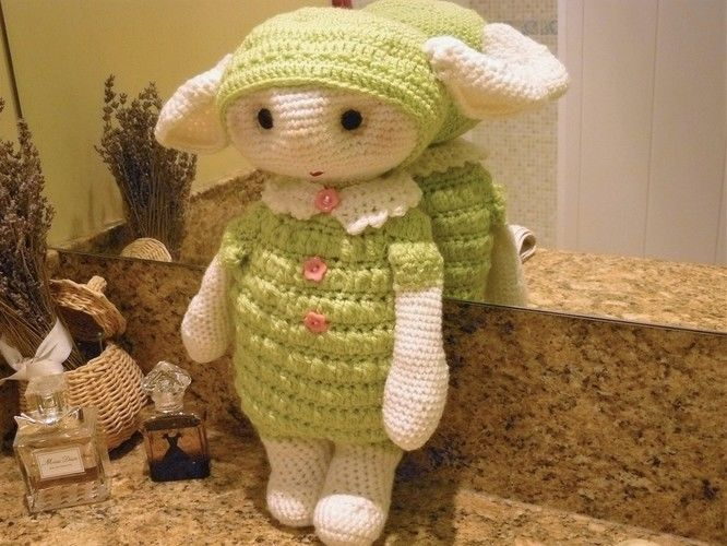 Makerist - petite bébette verte  - Créations de crochet - 1