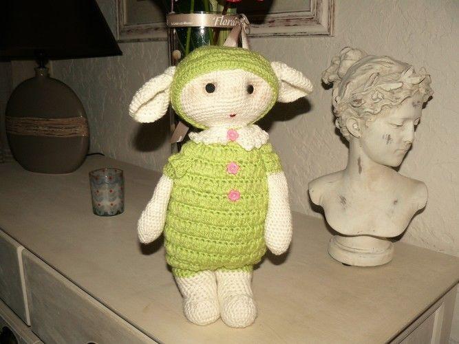 Makerist - petite bébette verte  - Créations de crochet - 2