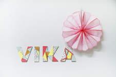 Makerist - Acrylfarben // Holzbuchstaben - 1