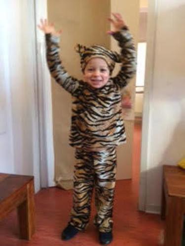 Makerist - Tiger Kostüm - Nähprojekte - 1