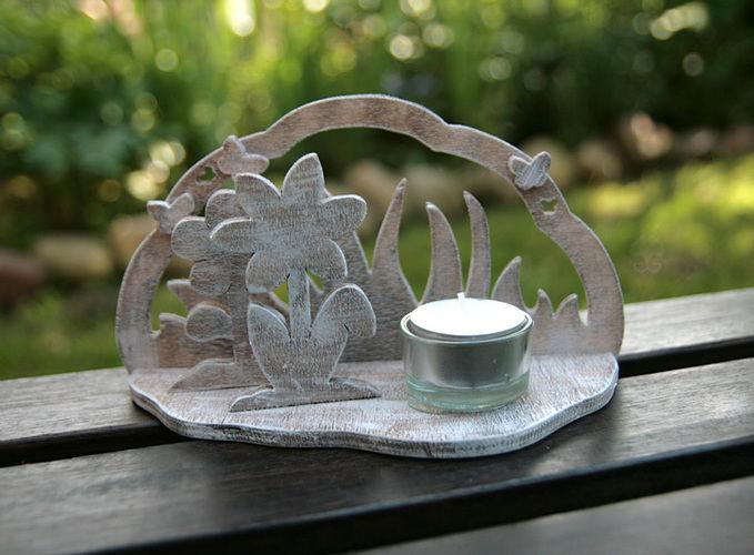 """Makerist - Teelichthalter """"Blume"""" - DIY-Projekte - 1"""