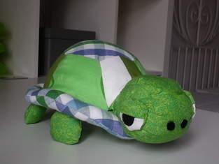 Nähanleitung Und Schnittmuster Schildkröte Stofftier