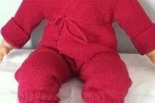 Makerist - ensemble bebe couleur mure - 1