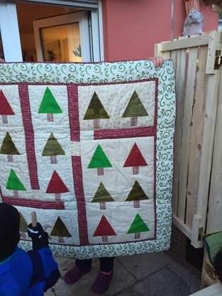 Makerist - Weihnachtsquilt - 1
