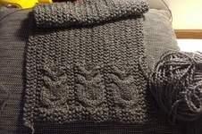 Makerist - Schal und Mütze Eulen mit Augen aus strasssteinen  - 1