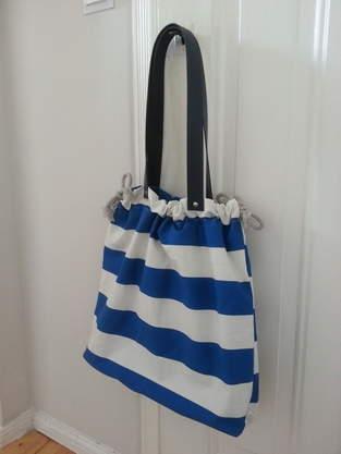 Makerist - maritime Strandtasche - 1