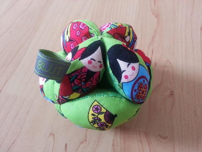 Makerist - Greifball für die Kleinsten - Nähprojekte - 1