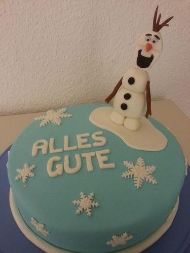 Makerist - Olaf - der Schneemann - Torten, Cake Pops und Cupcakes - 1