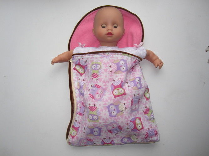 Makerist - das ist MEIN Puppenschlafsack - Nähprojekte - 1